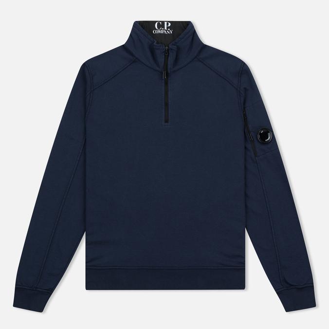 Мужской свитер C.P. Company Vest Neck Fleece Lens Pocket Navy