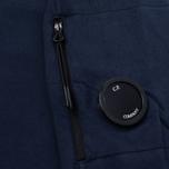 Мужской свитер C.P. Company Vest Neck Fleece Lens Pocket Navy фото- 3