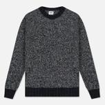Мужской свитер Edwin Dock Ecoplanet Wool Blend Black/Charcoal фото- 0