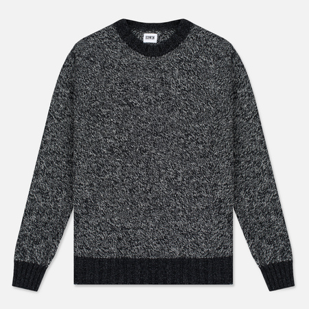 Мужской свитер Edwin Dock Ecoplanet Wool Blend Black/Charcoal