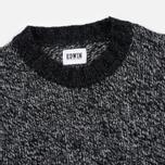 Мужской свитер Edwin Dock Ecoplanet Wool Blend Black/Charcoal фото- 1
