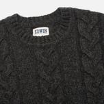 Мужской свитер Edwin Shackle Crewneck Charcoal фото- 1