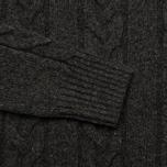 Мужской свитер Edwin Shackle Crewneck Charcoal фото- 2