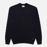 Edwin Shackle Crewneck Men's Sweater Navy photo- 0