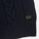 Edwin Shackle Crewneck Men's Sweater Navy photo- 3