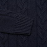 Edwin Shackle Crewneck Men's Sweater Navy photo- 2