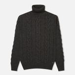 Мужской свитер Edwin Shackle Rollneck Charcoal фото- 0