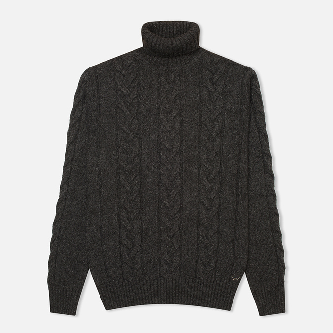 Мужской свитер Edwin Shackle Rollneck Charcoal