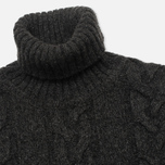 Мужской свитер Edwin Shackle Rollneck Charcoal фото- 1