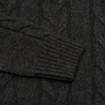 Мужской свитер Edwin Shackle Rollneck Charcoal фото- 2