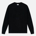 Мужской свитер Edwin United Ecoplanet Wool Blend Black фото- 0