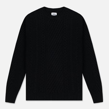 Мужской свитер Edwin United Ecoplanet Wool Blend Black