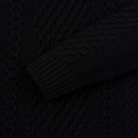 Мужской свитер Edwin United Ecoplanet Wool Blend Black фото- 2