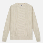 Мужской свитер Edwin United Ecoplanet Wool Blend Natural фото- 0