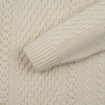 Мужской свитер Edwin United Ecoplanet Wool Blend Natural фото- 2