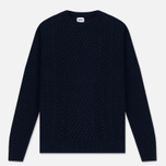 Мужской свитер Edwin United Ecoplanet Wool Blend Navy фото- 0