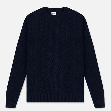 Мужской свитер Edwin United Ecoplanet Wool Blend Navy