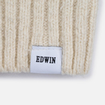 Мужской свитер Edwin United Rollneck Ecoplanet Wool Blend Natural Garment Washed фото- 3