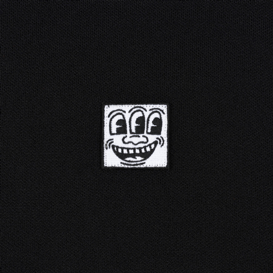 Мужской свитер Etudes x Keith Haring Neil Patch Black