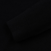 Мужской свитер Fred Perry Tipped Sleeve Crew Neck Black фото- 3