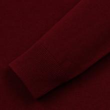 Мужской свитер Fred Perry Tipped Sleeve Crew Neck Dark Red фото- 3
