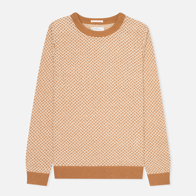 Мужской свитер Gant Rugger Arrow Weave Crew Toffee