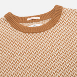 Мужской свитер Gant Rugger Arrow Weave Crew Toffee фото- 1