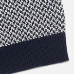 Мужской свитер Gant Rugger Arrow Weave Crew Navy фото- 3