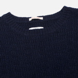 Мужской свитер Gant Rugger The Basketweave Navy фото- 1