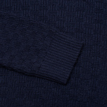 Мужской свитер Gant Rugger The Basketweave Navy фото- 2