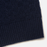 Мужской свитер Gant Rugger The Basketweave Navy фото- 3