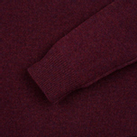 Мужской свитер Hackett Crew Neck Logo Berry фото- 2
