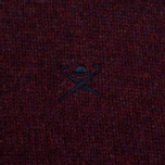 Мужской свитер Hackett Crew Neck Logo Berry фото- 3