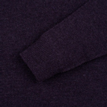 Мужской свитер Hackett Crew Neck Logo Deep Purple фото- 2