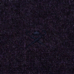 Мужской свитер Hackett Crew Neck Logo Deep Purple фото- 3