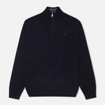 Мужской свитер Hackett Half Zip Navy фото- 0