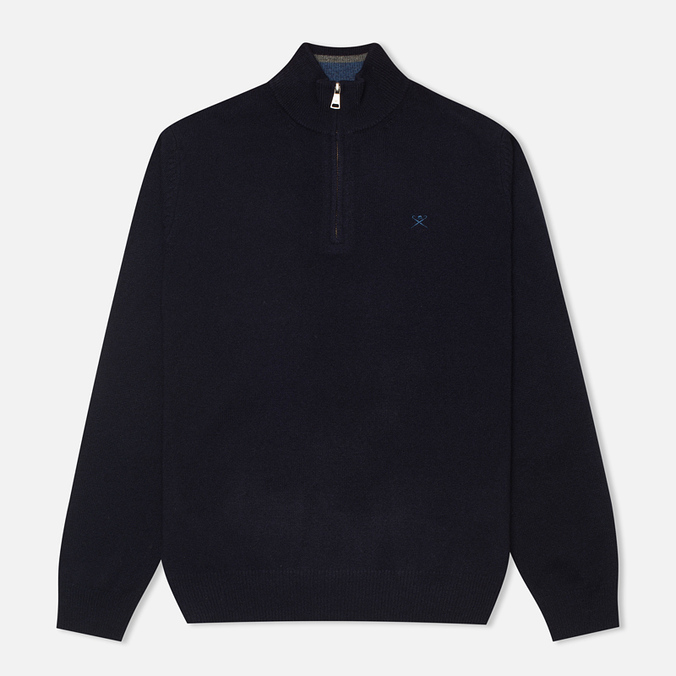 Мужской свитер Hackett Half Zip Navy
