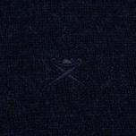 Мужской свитер Hackett Half Zip Navy Melange фото- 3
