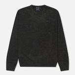 Hackett Lambswool Crew Neck Men's Sweater Charcoal photo- 0