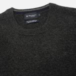 Hackett Lambswool Crew Neck Men's Sweater Charcoal photo- 1