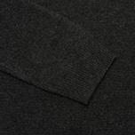 Hackett Lambswool Crew Neck Men's Sweater Charcoal photo- 3