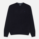 Мужской свитер Hackett Lambswool Crew Neck Navy фото- 0