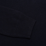 Мужской свитер Hackett Lambswool Crew Neck Navy фото- 3