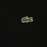Мужской свитер Lacoste Embroidered Croc Logo Crew Neck Black фото- 2