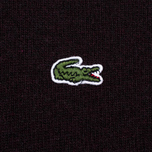 Мужской свитер Lacoste Embroidered Croc Logo Crew Neck Burgundy фото- 3