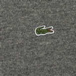 Мужской свитер Lacoste Embroidered Croc Logo Crew Neck Grey фото- 2