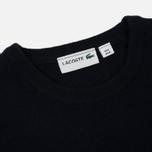 Мужской свитер Lacoste Embroidered Croc Logo Crew Neck Navy фото- 1