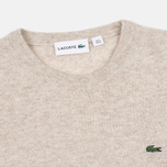 Мужской свитер Lacoste Embroidered Croc Logo Crew Neck Oats Chine фото- 1