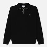 Мужской свитер Lacoste Half Zip Fastened Black/Pierre Chine фото- 0