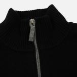 Мужской свитер Lacoste Half Zip Fastened Black/Pierre Chine фото- 1